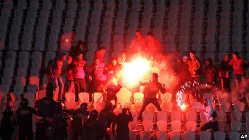 Kerusuhan di stadion di Port Said