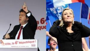Fransa'da radikal sol ve sağ