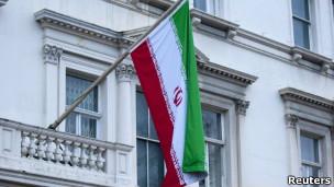 Bandeira do Irã. | Foto: Reuters