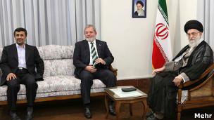 رهبران ایران و رئیس جمهوری سابق برزیل