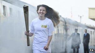 Mwenge wa Olimpiki