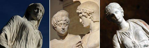 Estatuas romanas