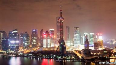Vista de una ciudad china