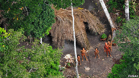 Indígenas brasileños - Foto: Gleison Miranda/Funai/Survival
