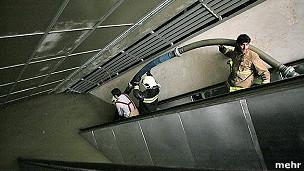 آبگرفتگی متروی تهران