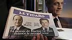 primera página de Le Figaro tras elecciones en Francia