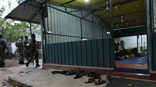 Mezquita en Sri Lanka