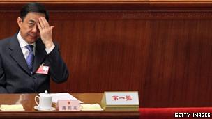 中共前政治局委员薄熙来(11/04/2012)