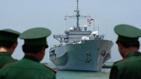 Tàu USS Blue Ridge vào Việt Nam