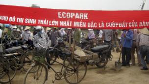 Nông dân Việt Nam biểu tình