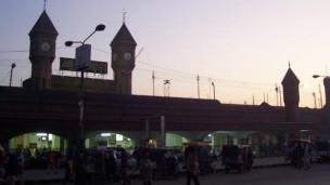 Jalur kereta Pakistan (foto arsip)