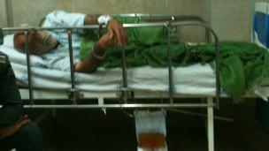 زندانی بیمار در یکی از بیمارستانهای تهران