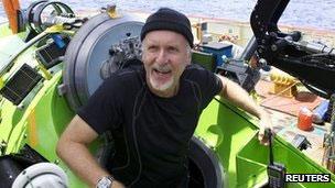 James Cameron, que mergulhou nas Fossas Marianas recentemente (Reuters)