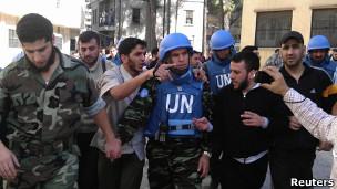 ناظران سازمان ملل در سوریه
