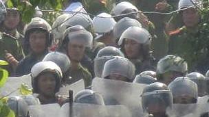 Cưỡng chế đất ở Văn Giang, Hưng Yên