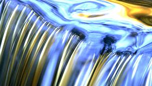Agua fluyendo Foto SPL