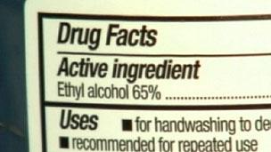 Álcool gel tem porcentagem alta de álcool em sua fórmula (BBC)