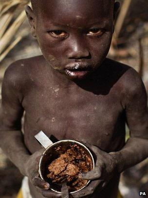 Menino africano/PA
