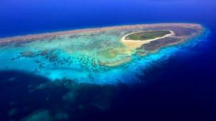 Một hòn đảo trên Biển Đông