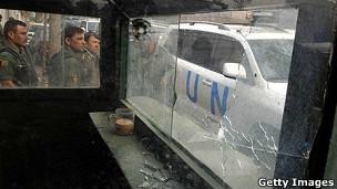 حمله به یک مهمانخانه ملل متحد در کابل