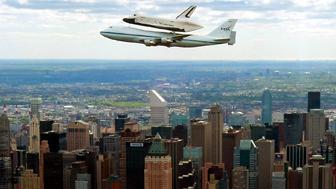 الرحلة الاخيرة لمكوك انتربرايز: من واشنطن الى نيويورك