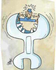 کارتون علی درخشی، شرق
