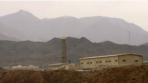 تاسیسات اتمی ایران در نطنز