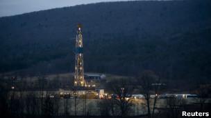 Gás de xisto / Reuters