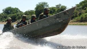 Militares participam de operação Agata 3 (Foto: Divulgação/Ministério da Defesa)