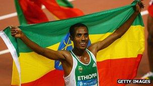 تحتل اثيوبيا موقعا متقدما في عدد الميداليات مقارنة بمعدلات التنمية البشرية