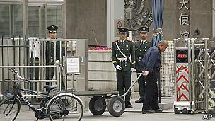 embajada de EE.UU. en Pekín