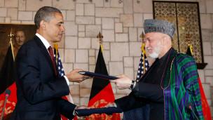 کرزی و اوباما