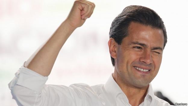 انریکو پنیا نیتو، فرماندار سابق وخوش سیمای ایالت مکزیکو
