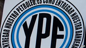 símbolo de YPF