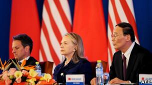 Hillary Clinton di Cina