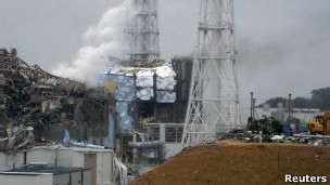 Usina de Fukushima (arquivo/Reuters)