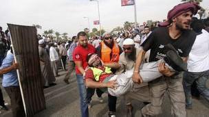 درگیری های روز جمعه در مصر