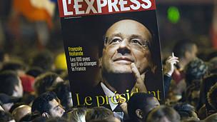 Báo chí Pháp đưa tin về ông Francois Hollande