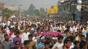 नेपाल में विरोध