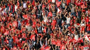 هواداران پرسپولیس تهران
