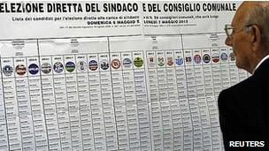 انتخابات محلی در ایتالیا
