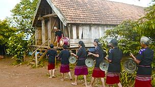 Một ngôi làng của người Ê đê