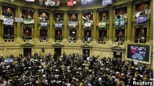 Congresso argentino | Foto: Reuters
