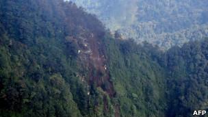 Pesawat sukhoi superjet 100 yang jatuh DI gunung salak.