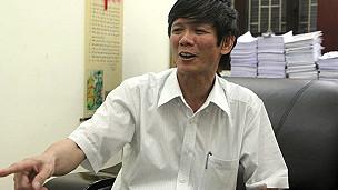 Chánh văn phòng tỉnh Hưng Yên Bùi Huy Thanh (ảnh của báo Tuổi Trẻ)