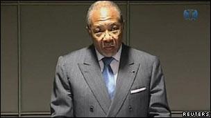 چارلز تیلور، رئیسجمهوری پیشین لیبریا