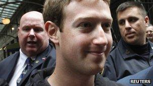 مارک زوکربرگ، مدیر فیس بوک