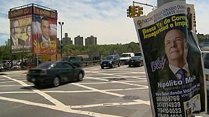 Publicidad en Washington Heights