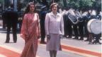 سوزان مبارك وسونيا غاندي