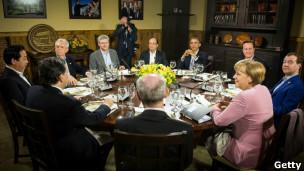 Các lãnh đạo G8 họp ở Camp David